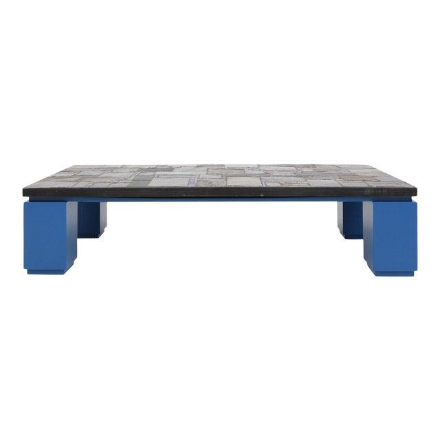 Pia Manu Ceramic Tile Coffee Table For Sale