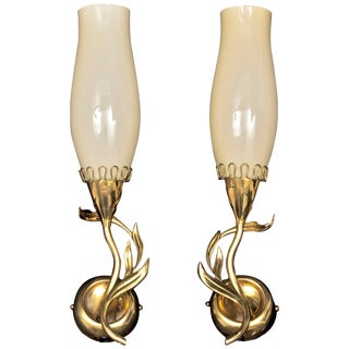 Pair of Wall Lights by Mauri Almari for Idman For Sale