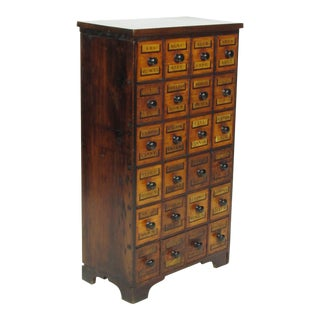 19th Century English Apothecary Chest