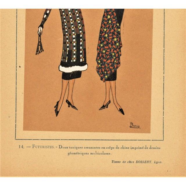 1924 art deco fashion pochoir illustration chairish for Pochoir deco
