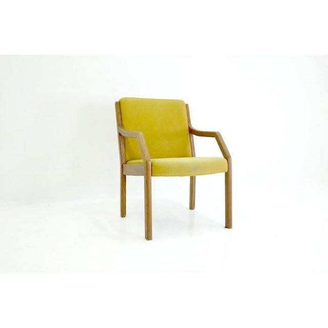 Danish Mid-Century Modern Arm Chair in Teak - Image 2 of 5