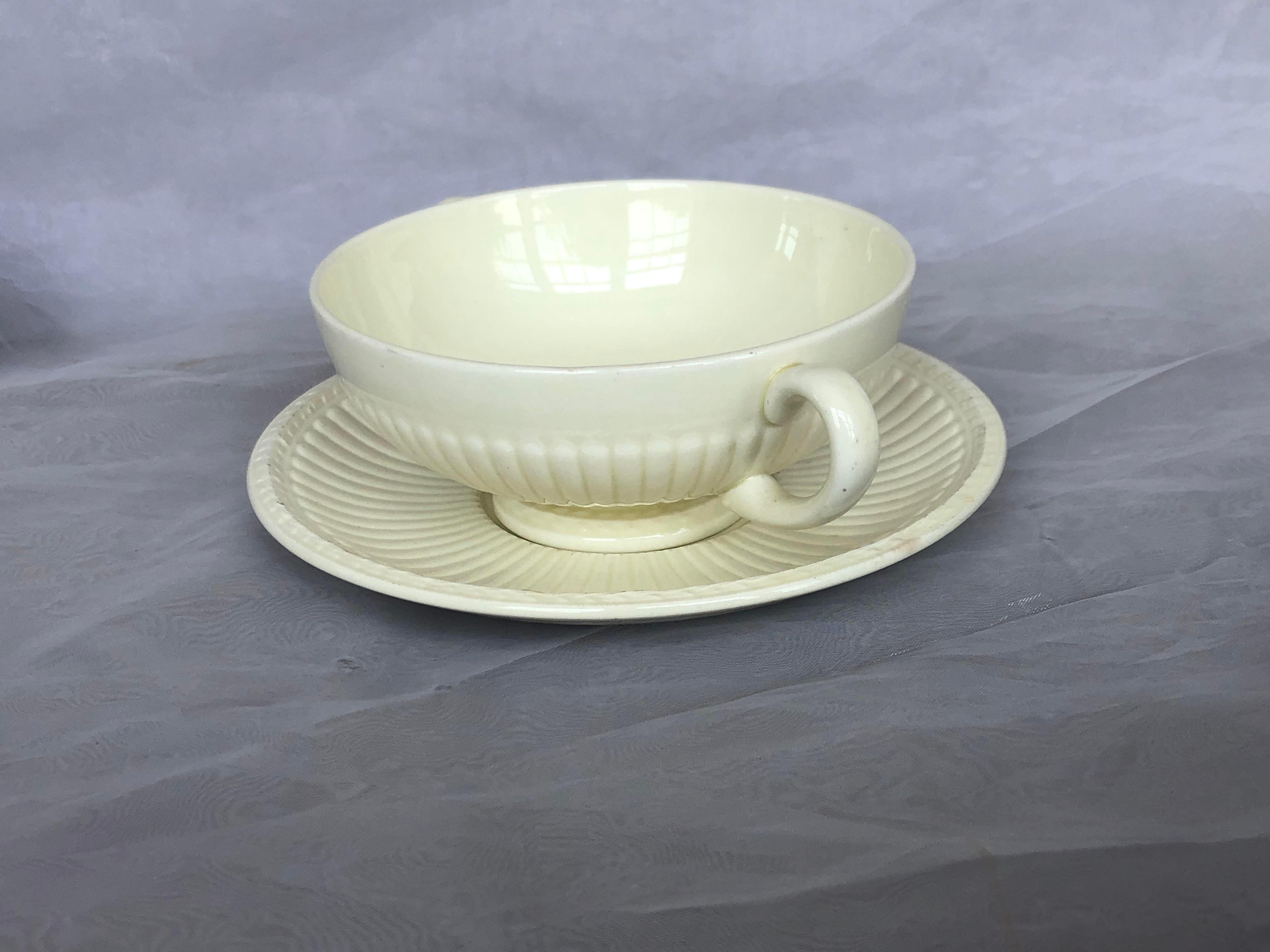 Vintage 1940/'s  Wedgwood EDME of Barlaston and Eturia Dessert  Fruit Bowls Set of 6