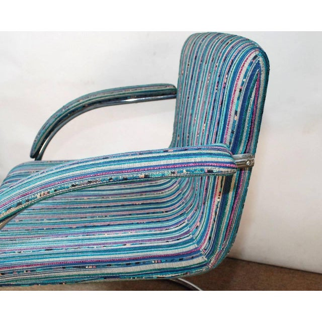Mid 20th Century Set of Four Italian Mid-Century Chairs by Saporiti Italia For Sale - Image 5 of 7
