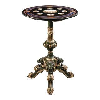 Italian Micromosaic Table For Sale
