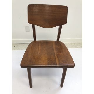 Vintage Mid Century Modern Wood Desk Chair by Gunlocke Preview