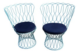 Image of Metal Side Chairs