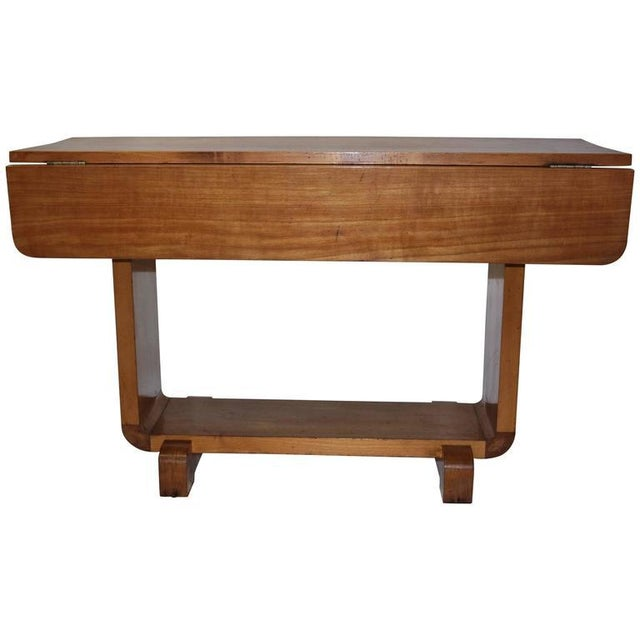 Shirley Temple's Art Deco Drop-Leaf Child Table - Image 10 of 10