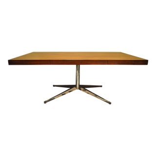 Florence Knoll Rosewood Partner Desk For Sale