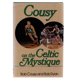 "1988 ""Signed Edition, Cousy on the Celtic Mystique"" Collectible Book For Sale"
