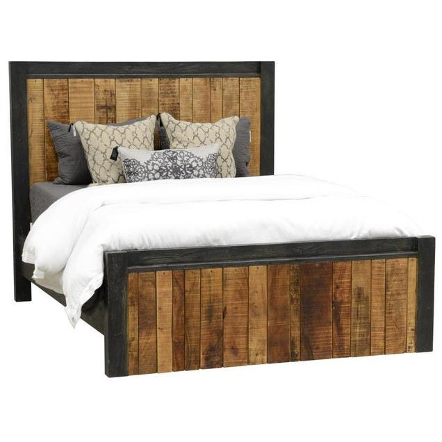 Reclaimed Wood Panel Eastern King Bed - Image 3 of 3