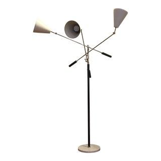 Italian Mid-Century Modern Triennale Floor Lamp
