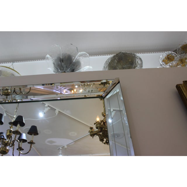 1930s Vintage American Art Deco Mirror For Sale - Image 5 of 12