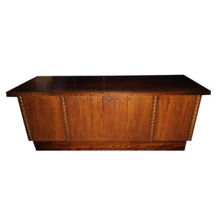 1972 Mid Century Modern Altavista Lane Cedar Lined Hope Chest For Sale