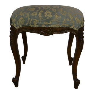 French Louis XV Vanity Bench For Sale