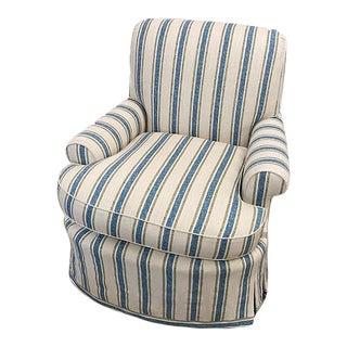 Odom Chair With Custom Stripe For Sale