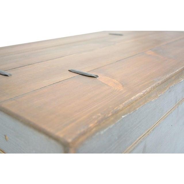 Cottage Sarreid Ltd. Trunk Storage Side Table For Sale - Image 3 of 6