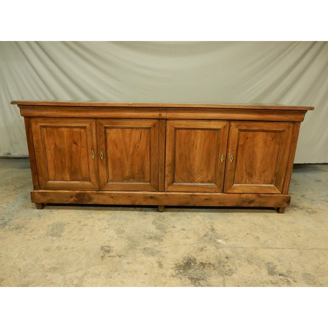 French Walnut 19th Century Enfilade For Sale - Image 12 of 12