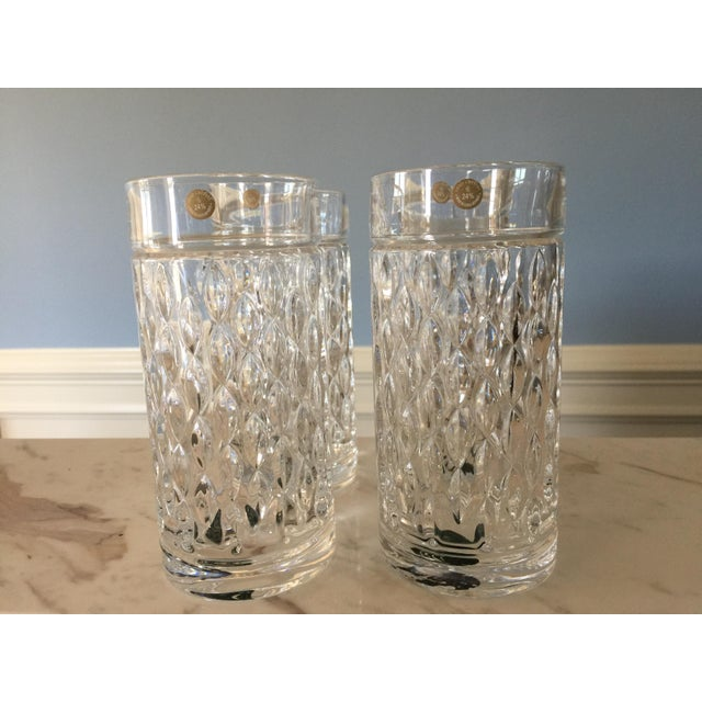Traditional Ralph Lauren Aston Highball Crystal Glasses - Set of 4 For Sale - Image 3 of 7