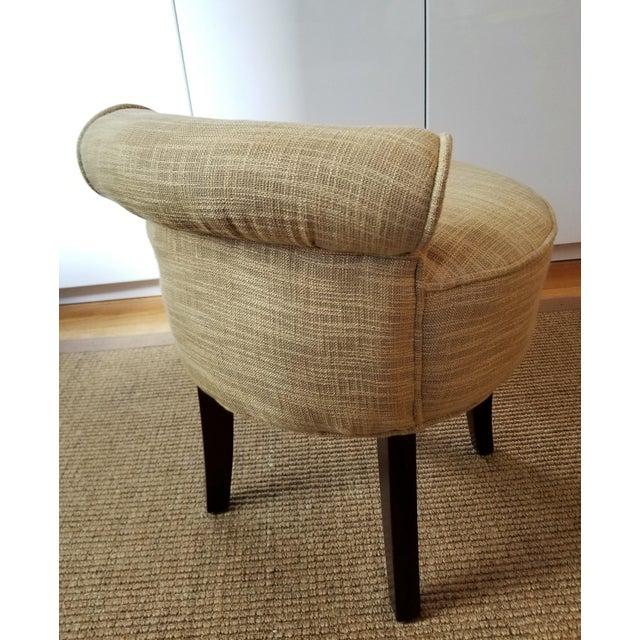 Outstanding Safavieh Georgia Gold Vanity Stool Machost Co Dining Chair Design Ideas Machostcouk