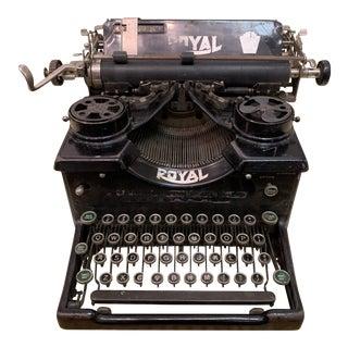 Vintage Royal Brand Typewriter For Sale