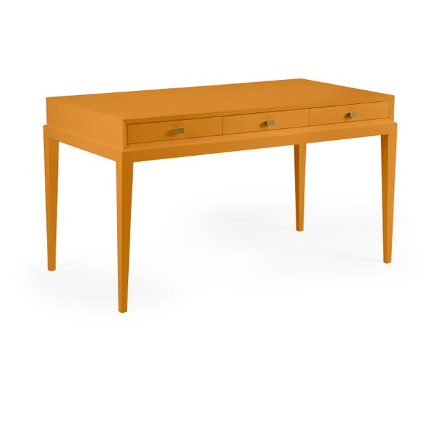 Traditional Casa Cosima Hayes Desk, Dash of Curry For Sale - Image 3 of 3