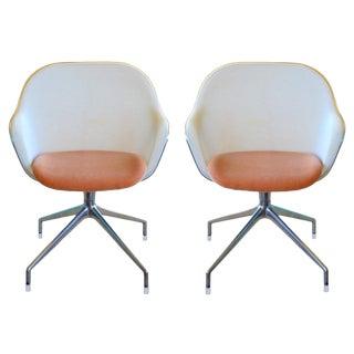 Antonio Citterio for B&B Italia Iuta Chairs- A Pair For Sale
