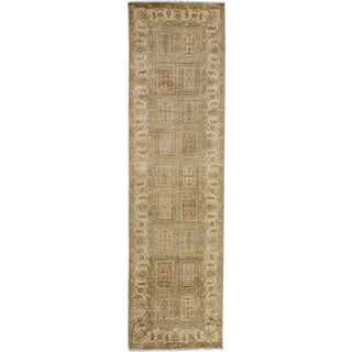 """Oushak Hand-Knotted Runner - 2'8"""" x 9'9"""" For Sale"""