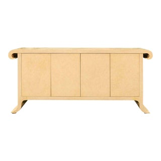 Sleek and Elegant Hand-Painted Credenza by Allesandro for Baker, circa 1985 For Sale