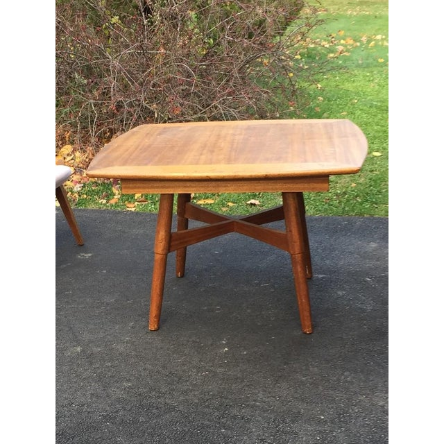 This table (and 4 Chairs and a Vitrine/Wall Unit in a separate listing) were given to me by my Great Aunt Agnes, who...