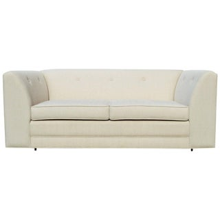 Clean Lines Mid-Century Loveseat