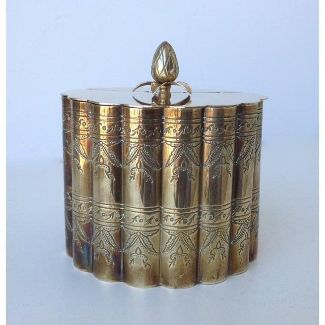 Brass English Moorish-Style Tea Container - Image 2 of 11