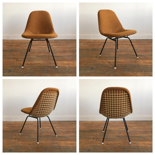 Herman Miller Eames Wire Chairs With Alexander Girard Covers - A Pair - Image 8 of 10