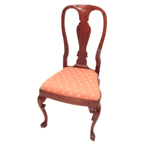 Queen Anne Accent Chair - Image 1 of 5