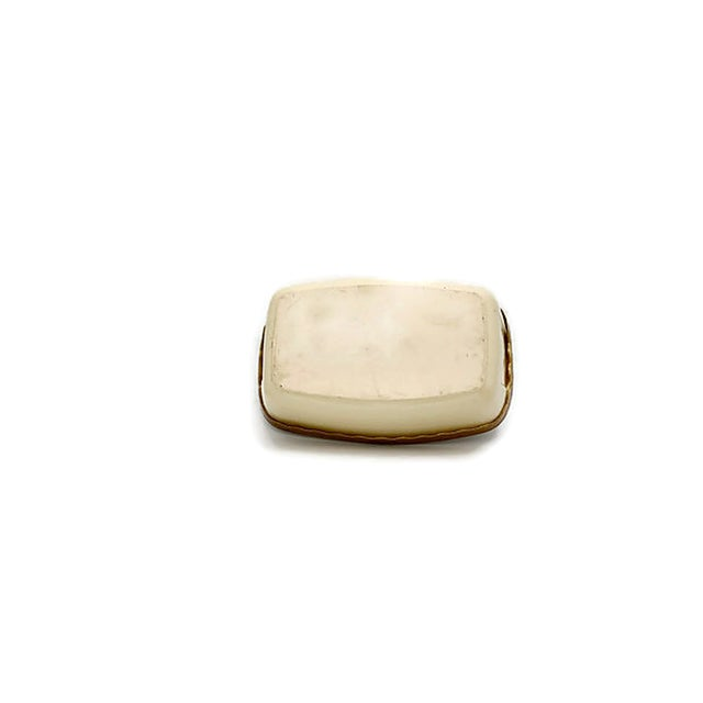 White Mid-Century French Stoneware Bakers For Sale - Image 8 of 9