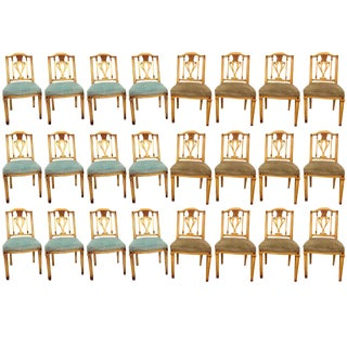 Painted Dining Chairs - Set of 24
