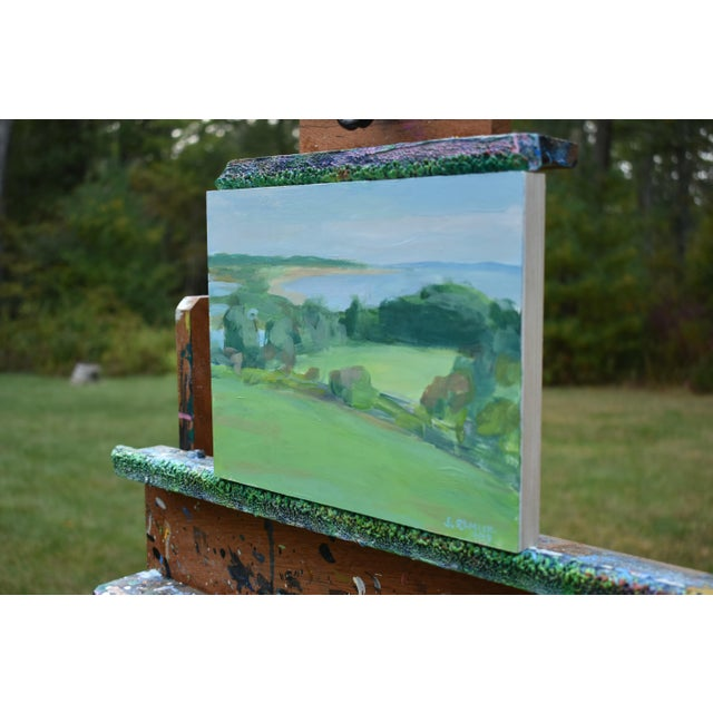 """Contemporary Contemporary """"Surf N Turf"""" Plein Air Painting by Stephen Remick For Sale - Image 3 of 8"""