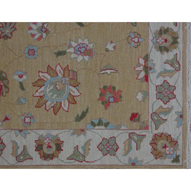 Soumak Design Hand Woven Wool Rug - 4' X 6' - Image 3 of 5