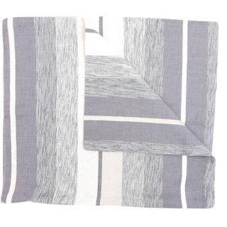 Moroccan Gray Sabra Pillowcase - A Pair For Sale