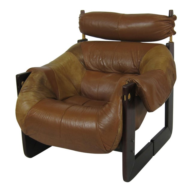 Rosewood Lounge Chair by Percival Lafer For Sale