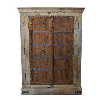 Antique Old Door Indian Cabinet