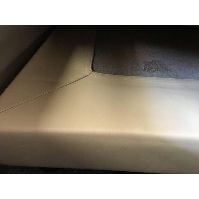 i4 Mariani Vintage I4 Mariani Molto+Di Italian Leather Sectional For Sale - Image 4 of 9