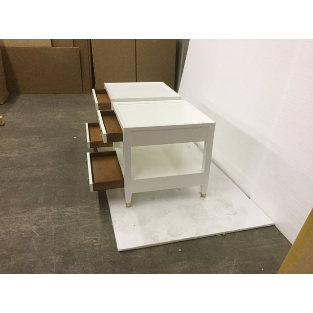 Malibu Loft White End Tables - A Pair - Image 8 of 9