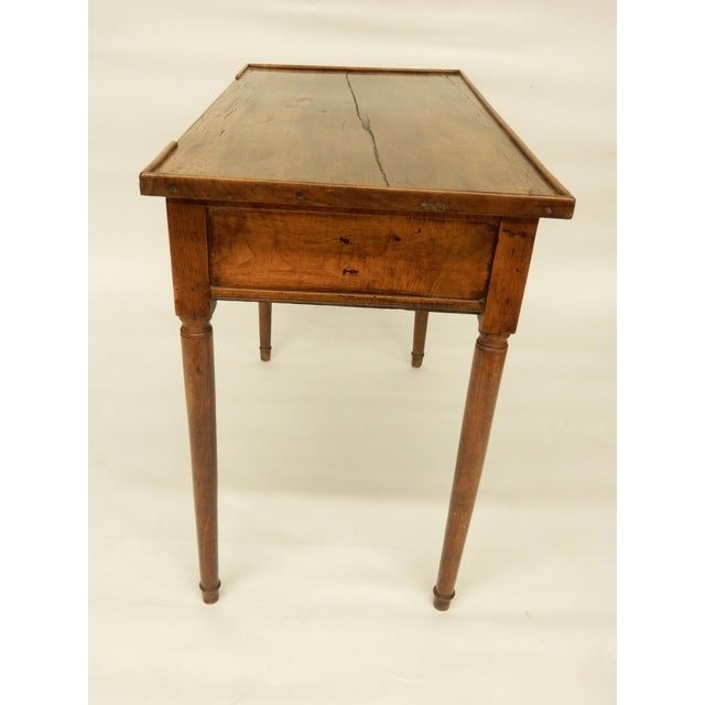 Late 18th Century 18th C. French Provincial Walnut Side Table For Sale - Image 5 of 9