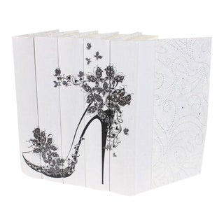 Image Collection Butterfly High Heel Motif Books - Set of 5 For Sale