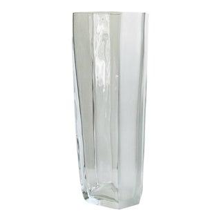 Carlo Moretti Italian Blown Glass Vase For Sale