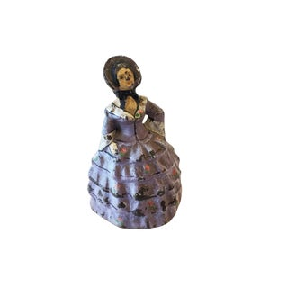 Old Door Stopper Cast Iron Figure For Sale