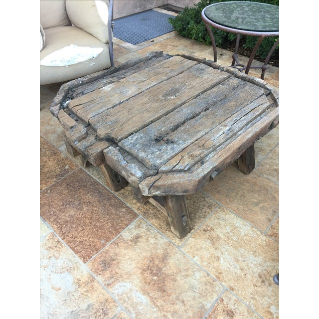 Antique French Wine Press Coffee Table - Image 3 of 3