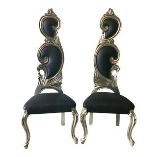 French Baroque Chairs - a Pair