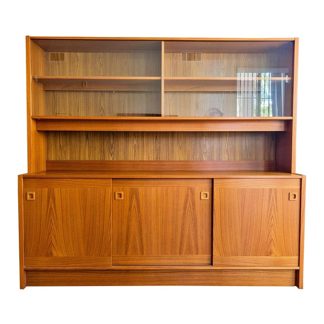 Clausen Møbler Danish Modern Teak Wall Unit/Hutch - Image 1 of 8