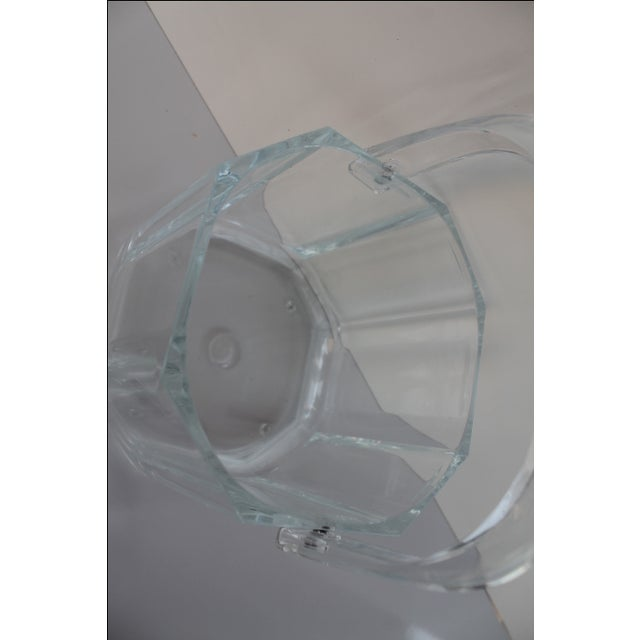 Albrizzi Style Mid-Century Lucite Ice Bucket - Image 8 of 9